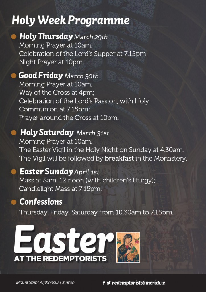 Redemptorists-Easter-holy-week-ad