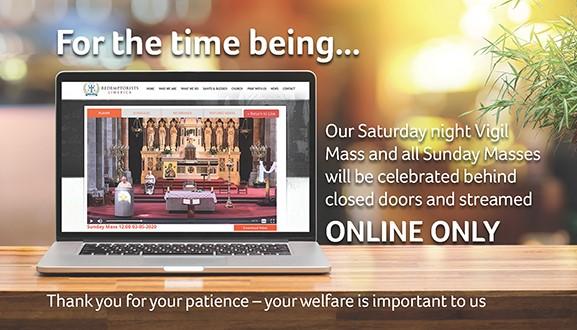 No Sunday Mass